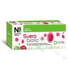 NS SUEROBIOTIC 6 SOBRES FRESA (ELECTROLITOS+PROBIOTICOS)