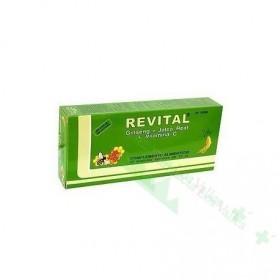 REVITAL JALEA REAL+GINSENG+VIT C AMP BEBIBLE 20 AMP