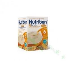 NUTRIBEN PAP 8 CER/MIEL GALLETAS MARIA 600 G