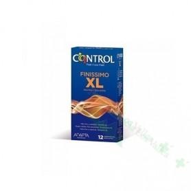 CONTROL XL FINISSIMO 12U PRESERVATIVOS