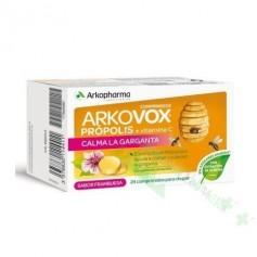 ARKOVOX PROPOLIS+VIT C FRAMBUESA MASTICABLES 24 COMP
