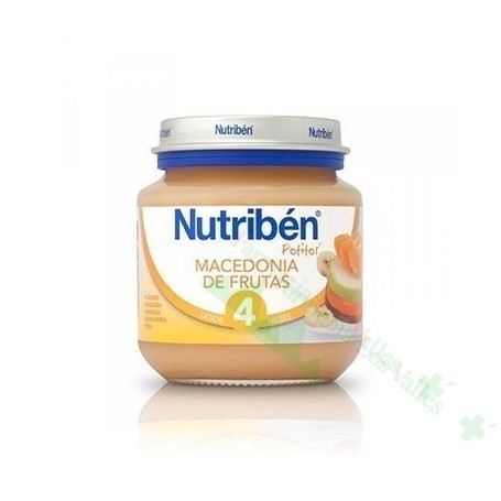 NUTRIBEN INICIO MACEDONIA FRUTAS 130 G