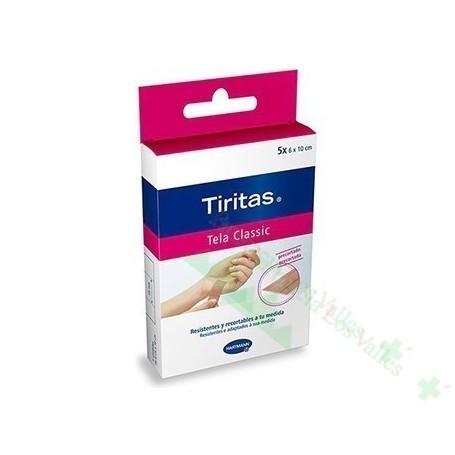 TIRITAS CLASSIC PRECORT 6X10CM 10UD APOSITO ADHE